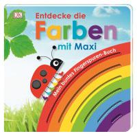 Coverbild Mein buntes Fingerspuren-Buch. Entdecke die Farben mit Maxi von Franziska Jaekel, 9783831037032