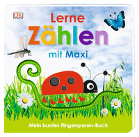 Coverbild Mein buntes Fingerspuren-Buch. Lerne zählen mit Maxi von Franziska Jaekel, 9783831037049