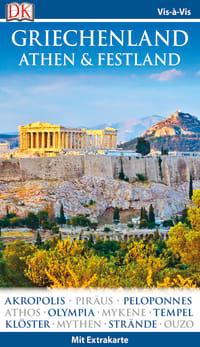 Coverbild Vis-à-Vis Reiseführer Griechenland, Athen & Festland, 9783734202223