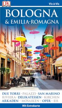 Coverbild Vis-à-Vis Reiseführer Bologna & Emilia-Romagna, 9783734202261