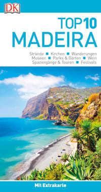 Coverbild Top 10 Reiseführer Madeira, 9783734205880
