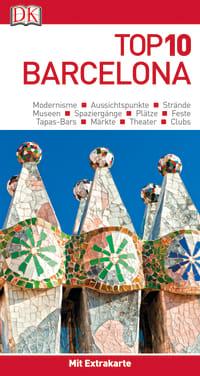 Coverbild Top 10 Reiseführer Barcelona, 9783734205989