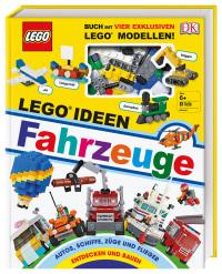 Coverbild LEGO® Ideen Fahrzeuge von Rona Skene, 9783831037742