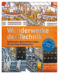 Coverbild Wunderwerke der Technik von Stephen Biesty, 9783831038251