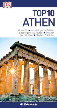 Coverbild Top 10 Reiseführer Athen, 9783734206061