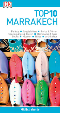 Coverbild Top 10 Reiseführer Marrakech, 9783734206078
