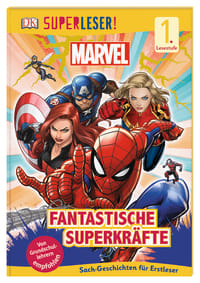 Coverbild SUPERLESER! MARVEL Fantastische Superkräfte von Catherine Saunders, 9783831038688