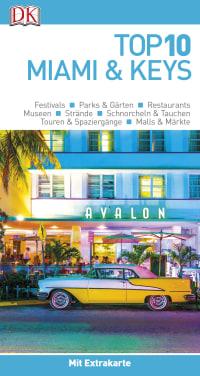 Coverbild Top 10 Reiseführer Miami&Keys, 9783734206139