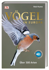 Coverbild Vögel in Europa von Rob Hume, 9783831039050