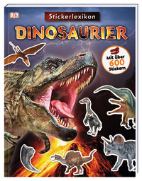 Coverbild Sticker-Lexikon. Dinosaurier, 9783831039340
