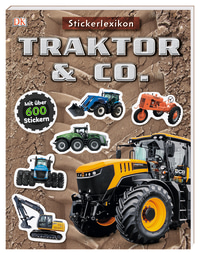 Coverbild Sticker-Lexikon. Traktor & Co., 9783831039357