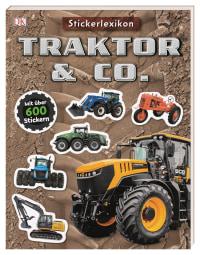 Coverbild Sticker-Lexikon. Traktor & Co., 9783831039357