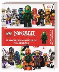 Coverbild LEGO® NINJAGO® Lexikon der Minifiguren von Claire Sipi, 9783831039784
