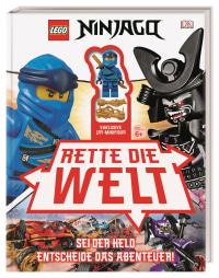 Coverbild LEGO® NINJAGO® Rette die Welt von Simon Hugo, 9783831039791