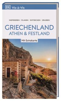 Coverbild Vis-à-Vis Reiseführer Griechenland, Athen & Festland, 9783734202865