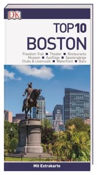 Coverbild Top 10 Reiseführer Boston, 9783734206153