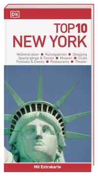 Coverbild Top 10 Reiseführer New York, 9783734206238