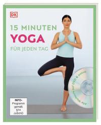 Coverbild 15 Minuten Yoga für jeden Tag von Louise Grime, 9783831039999