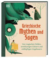 Coverbild Griechische Mythen und Sagen von Jean Menzies, Katie Ponder, 9783831040407