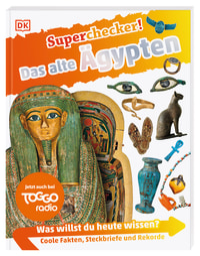Coverbild Superchecker! Das alte Ägypten, 9783831040452