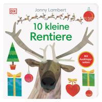 Coverbild 10 kleine Rentiere von Sandra Grimm, Jonny Lambert, 9783831040650