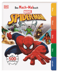 Coverbild Das Mach-Malbuch Marvel Spider-Man von David Fentiman, Helen Murray, 9783831040803