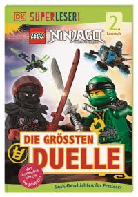 Coverbild SUPERLESER! LEGO® NINJAGO® Die größten Duelle von Simon Hugo, Cefn Ridout, 9783831040896