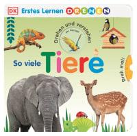 Coverbild Erstes Lernen Drehen. So viele Tiere, 9783831041817