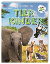 Coverbild Sticker-Lexikon. Tierkinder, 9783831041367