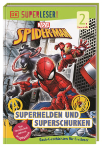 Coverbild SUPERLESER! MARVEL Spider-Man Superhelden und Superschurken von Simon Hugo, Catherine Saunders, 9783831041527