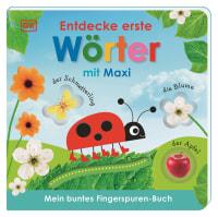 Coverbild Mein buntes Fingerspuren-Buch. Entdecke erste Wörter mit Maxi von Franziska Jaekel, 9783831041770