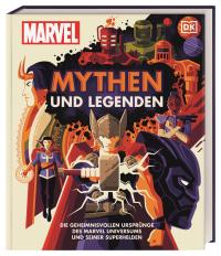 Coverbild MARVEL Mythen und Legenden von James Hill, 9783831041961
