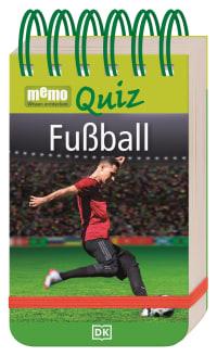 Coverbild memo Quiz. Fußball, 9783831042050