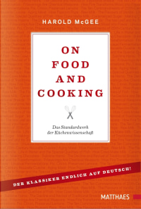 Coverbild On Food and Cooking von Harold McGee, 9783985410101
