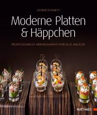 Coverbild Moderne Platten & Häppchen von Astrid Schmitt, 9783985410323