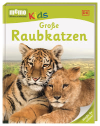 Coverbild memo Kids. Große Raubkatzen, 9783831027057