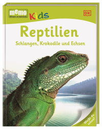 Coverbild memo Kids. Reptilien, 9783831027064