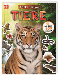 Coverbild Sticker-Lexikon. Tiere, 9783831040520