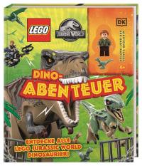 Coverbild LEGO® Jurassic World™ Dino-Abenteuer von Catherine Saunders, 9783831042036