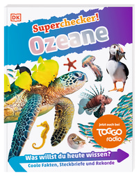 Coverbild Superchecker! Ozeane von Andrea Mills, 9783831042166