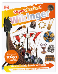 Coverbild Superchecker! Wikinger von Philip Steele, 9783831042173