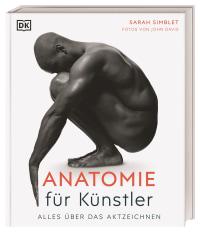 Coverbild Anatomie für Künstler von Sarah Simblet, 9783831042296