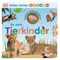 Coverbild Erstes Lernen Drehen. So viele Tierkinder, 9783831042333