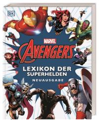 Coverbild Marvel Avengers Lexikon der Superhelden Neuausgabe von Alan Cowsill, 9783831043026