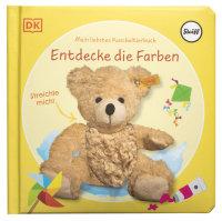 Coverbild Mein liebstes Kuscheltierbuch. Entdecke die Farben von Sandra Grimm, 9783831043156