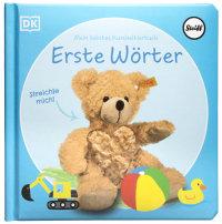 Coverbild Mein liebstes Kuscheltierbuch. Erste Wörter von Sandra Grimm, 9783831043163