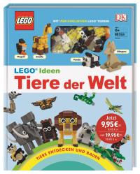Coverbild LEGO® Ideen Tiere der Welt von Rona Skene, 9783831035946