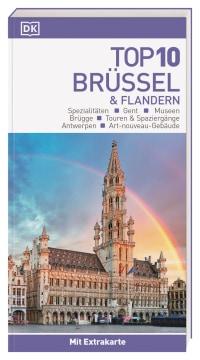 Coverbild Top 10 Reiseführer Brüssel & Flandern, 9783734206313
