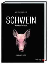 Coverbild SCHWEIN: von Kopf bis Fuß von Wolfgang Müller, 9783985410378