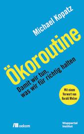 """Cover zu """"Ökoroutine"""""""